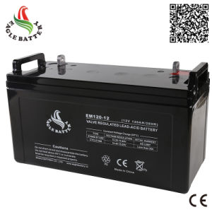 12V 120ah Mf AGM Lead Acid Rechargeable Battery for UPS/Solar