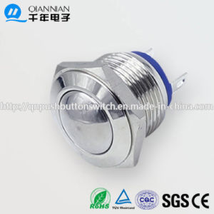 Qn16-A5 16mm Momentary Domed Head Pin Terminal Metal Push Button Switch pictures & photos
