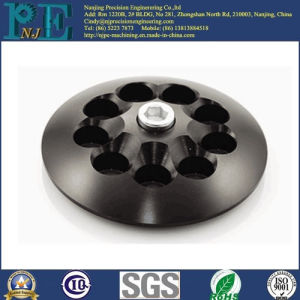 Customized PP Injection Mouded Plastic Black Base