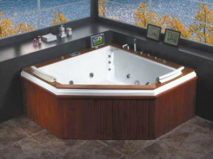 OEM New Design Promotional Aqua Massage Bathtub pictures & photos