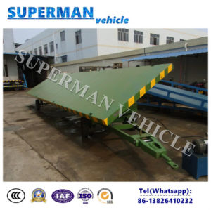 20t Agriculture Use Flatbed Cargo Side Dump Trailer/ Tipping Trailer pictures & photos