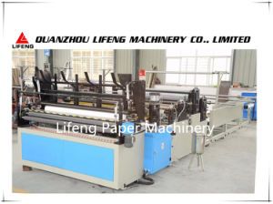 Automatic Toilet Tissue Paper Perforation Rewinding Machine