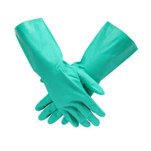 China Factory Stock Gloves Nitrile Gloves Nitrile Coated Safety Gloves