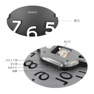WiFi Clock IP Camera pictures & photos