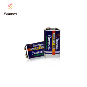 China Pairdeer Private Label Extra Heavy Duty 6f22pvc Battery 9v China 6f22 Battery And 9v Battery Price