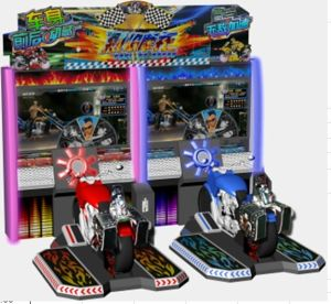 """2014 New Motor Racing Game Machine, 52"""" Soul of Racer Dx Game Machine"""
