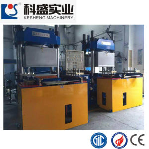 Layer Open Mould Style and Rail Open Style Together Hydraulic Molding Machine pictures & photos