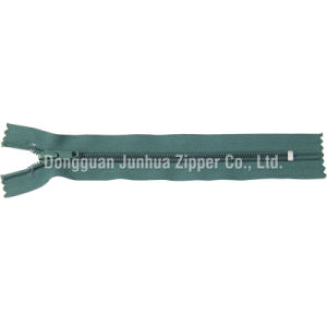 Injection Plastic Top Stopper Nylon Zipper (JH-NZ-15)