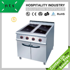 4 Electric Ceramic Hob, Induction Cooker with Cabinet for Hotel and Restaurant pictures & photos