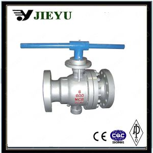 Cast Steel Trunnion Mounted Flange Ball Valve pictures & photos