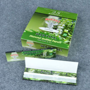 Hornet Menthol 110mm 25X32 Leaves Handroll Flavored Rolling Papers (ES-RP-033) pictures & photos