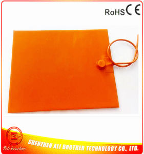 Battery Powered Silicone Rubber Heater 12V 180W 300*400*1.5mm