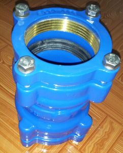 Ductile Iron Couplig for PE Pipe pictures & photos