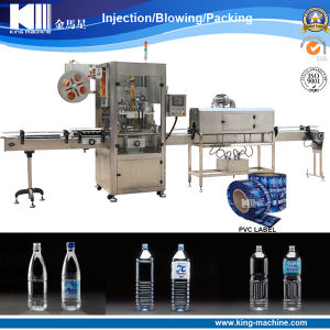 Full Automatic PVC Sleeve Shrink Labeling Machine pictures & photos