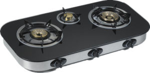 Oval Glass Top Stove