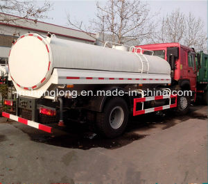 HOWO 4X2 10000L Water Tank Truck 10cbm Tanker Truck pictures & photos