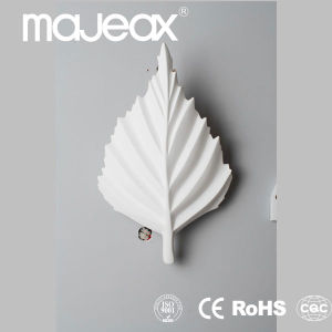 CE, RoHS Approved Plaster Flower Wall Lamp (MW-8338)