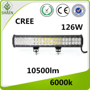 CREE LED Work Light Bar 20 Inch 126 W Combo pictures & photos