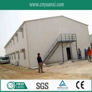 Fireproof Sandwich Panel Prefab House for Site Office! Comfortable!