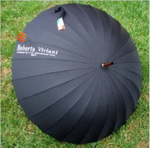 Black High Quality Adertising Golf Umbrella (YS-G1011A)