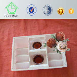 Custom Food Packaging Tray Manufacturer Plastic Oyster Serving Platter for Oyster Packaging pictures & photos