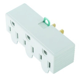 La-3A 3 Outlets Grounding Adapter with Hang Lug