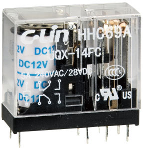 Miniature Relay/ PCB Relay with UL Approval (HHC69A-2Z (JQX-14FC-2Z)) pictures & photos