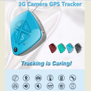 Mini GPS Tracker 3G Camera in Pendant for Kid or The Aged