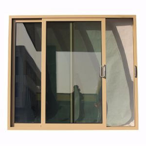 Powder Coated Aluminum Sliding Door, Sliding Door, Sliding Window, Window K01106