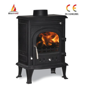 Matt Black Multifuel Cast Iron Stove