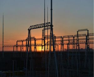 500kv Dead End a-Frame Substation Structure pictures & photos