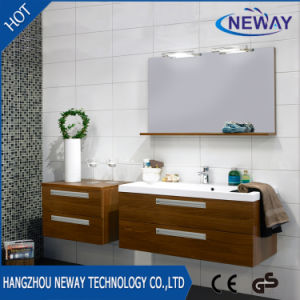Melamine Modern Bathroom Furniture Cabinet with Mirror pictures & photos