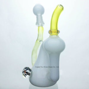 Glass pipes Mini Colored Water Pipes 14mm Honey Cup Recycle Oil Rigs Pipes High Quality pictures & photos