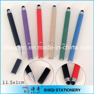 Eco-Friendly Colorful Paper Stylus Ball Pen with Logo Print