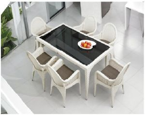 Rattan Table Garden Sets for Outdoor Furniture