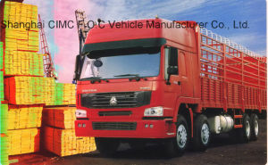Supply Sinotruk HOWO 8X4 Cargo Truck with Lowest Price