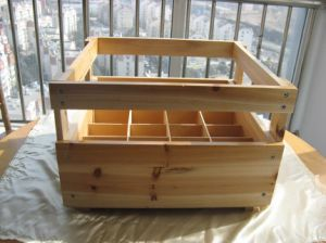 Wooden Wine Packing Box in Used in 2016 pictures & photos