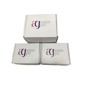 Flat Packed Durable Gift Packaging Corrugated Boxes