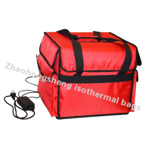 725dbf23c053 Large Electric Thermal Insulated Food Pizza Delivery Cooler Bag Custom Logo