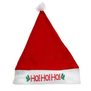 2020 Plush Christmas Santa Hat (JRA011) pictures & photos