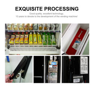 Snack/Can/Bottled Vending Machine/Dispenser LV-205f-a pictures & photos