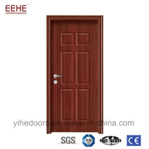 China Economical Interior Pvc Wood Door Design For House China