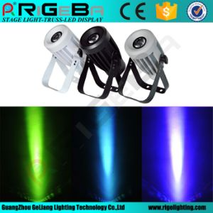 Mini 10W RGBW4in1 Osram Narrow Beam 8 Degree LED Stage Spot PAR Can Light pictures & photos