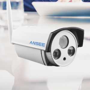 Waterproof IR Bullet IP Camera for Security Alarm System