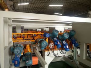 Width 1200mm 14 Head Edge Rounding Machine for Tile Arc Polishing pictures & photos