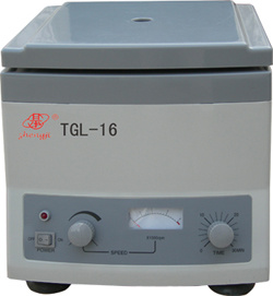 High Speed Centrifuge (TGL-16/TGL-16A/TGL-16B)