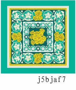 New Design Fashion Silk Printed Scarf (j5bjaf7) pictures & photos