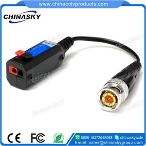 Screwless HD-Cvi/Tvi/Ahd Passive CCTV Video Balun with Pigtail (VB107pH) pictures & photos