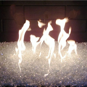 Decorative Luster Fire Glass Beads pictures & photos