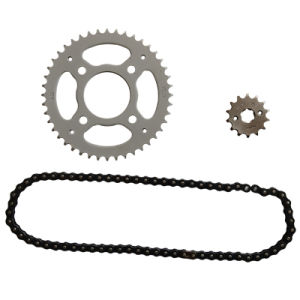Motorcycle Sprocket and Chain Set (HAIDA) pictures & photos